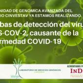 DISPONIBILIDAD DE PRUEBAS DE DETECCIÓN DEL VIRUS SARS-COV-2